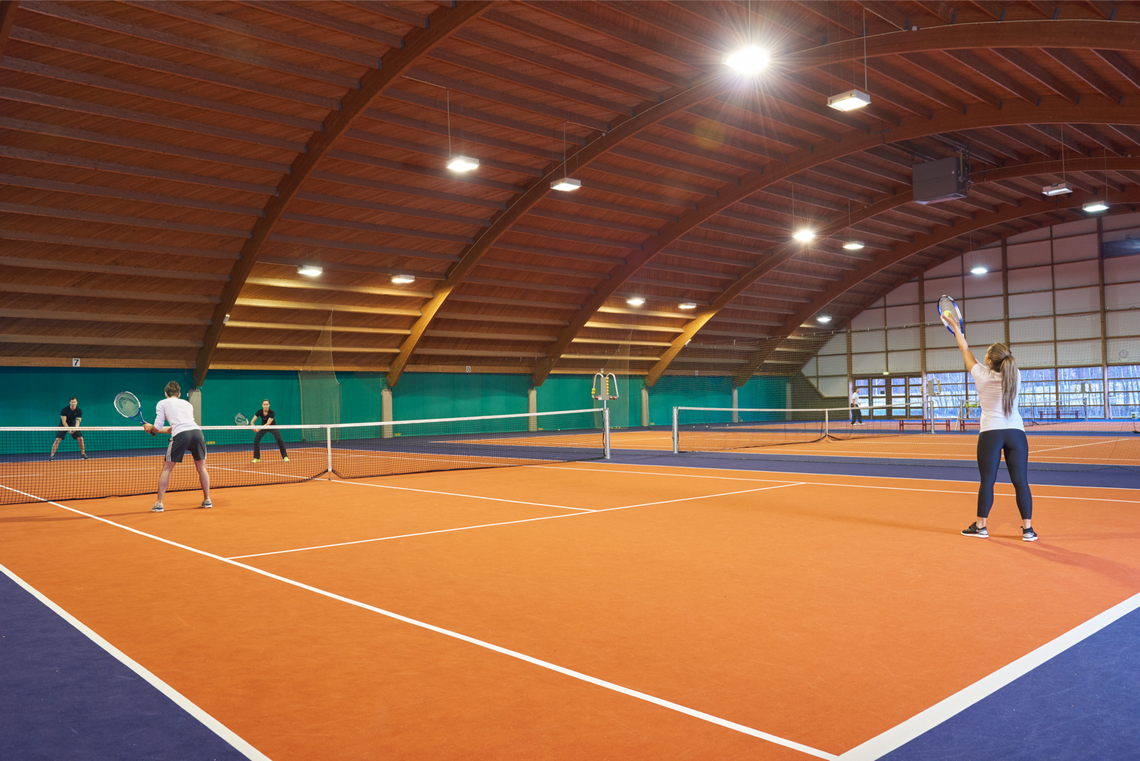 Image of tennis court at David Lloyd Eindhoven