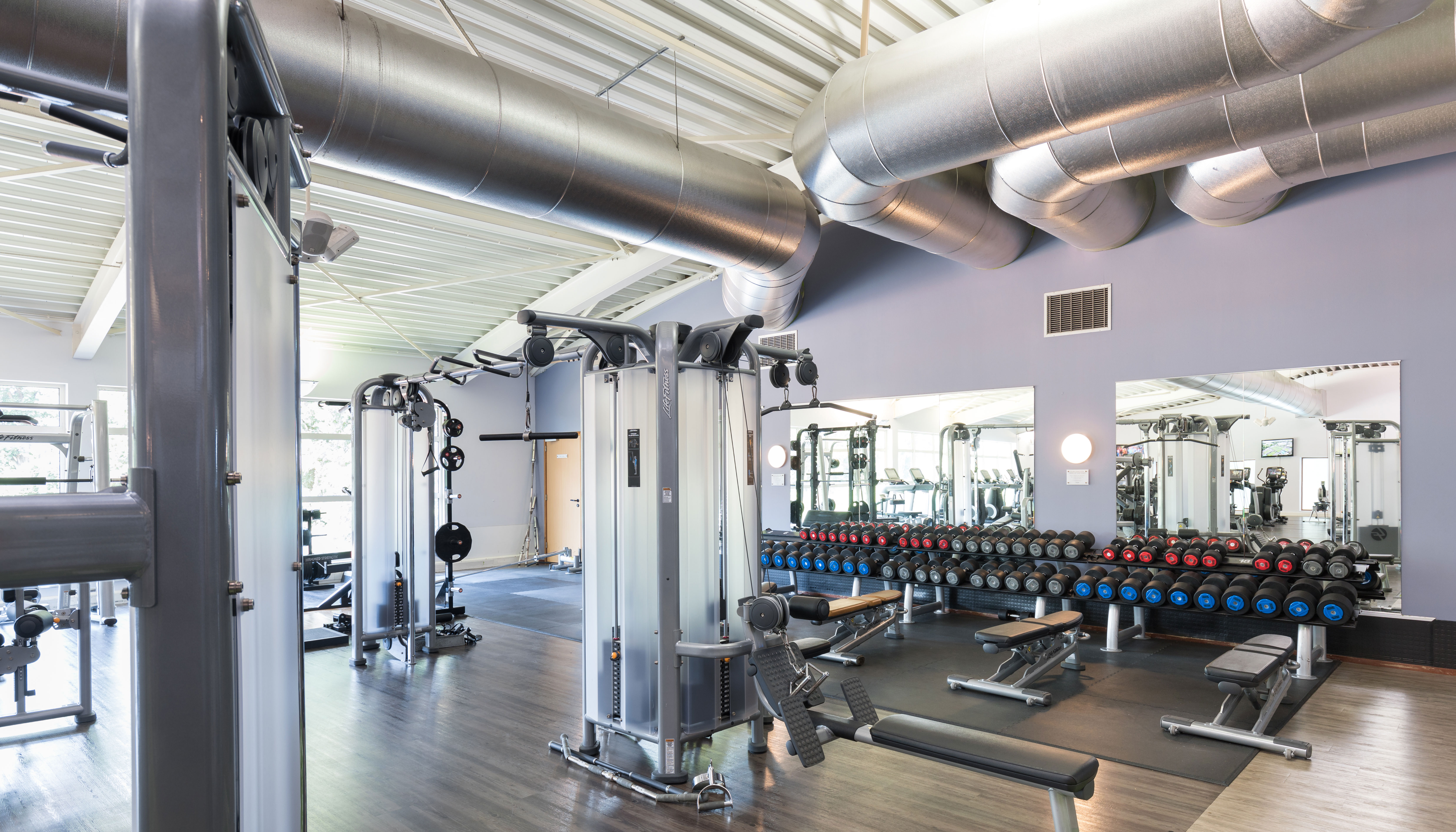 Image of the gym at David Lloyd Eindhoven