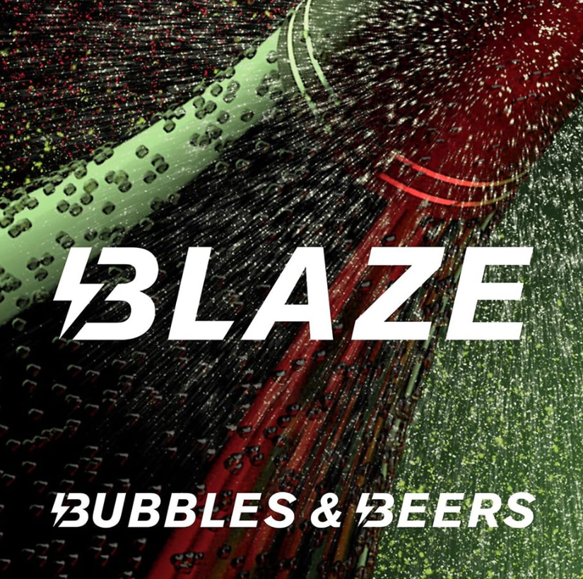Bubbles and bear Blaze