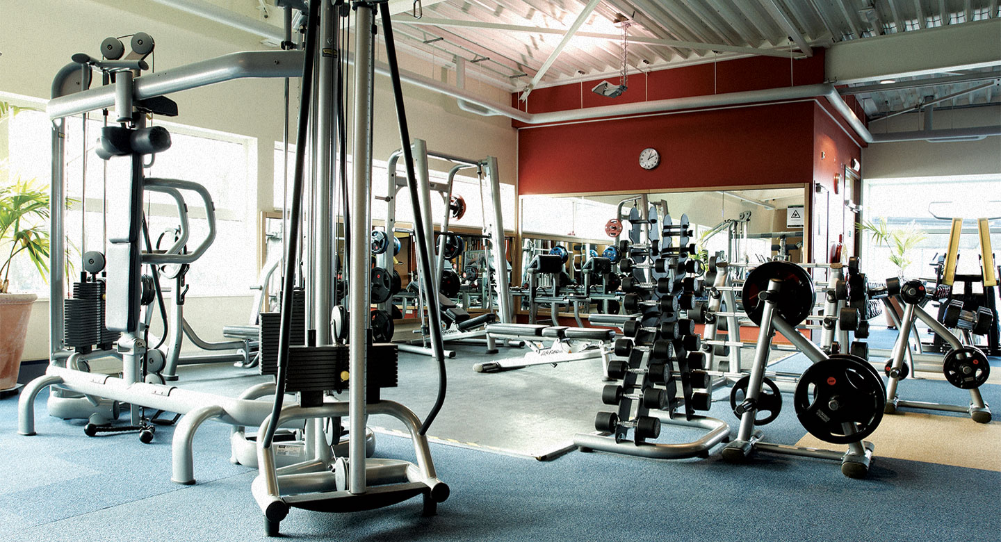 Image of the gym at David Lloyd Utrecht