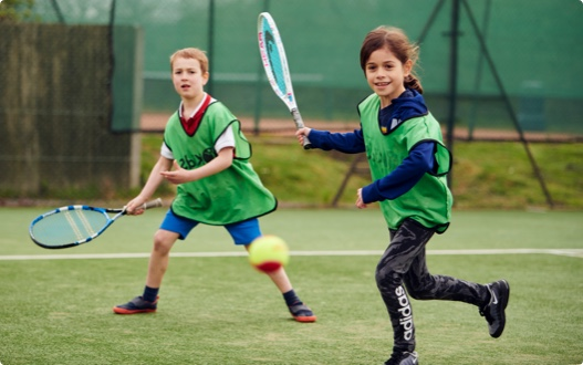 Kids activities at David Lloyd