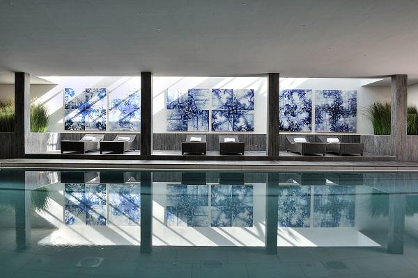 Geneva country club swimming pool