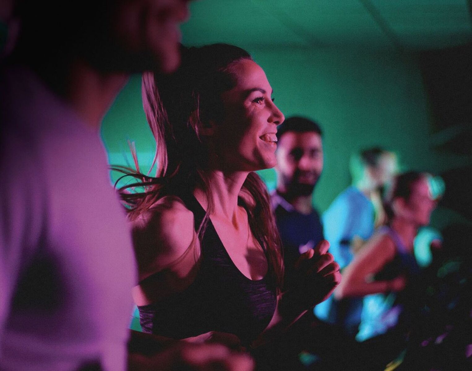Image of a lady doing Blaze at David Lloyd Brussels