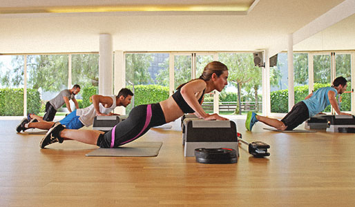 Image of group exercise class at David Lloyd