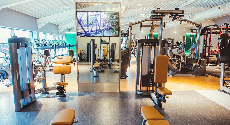 The gym at David Lloyd Antwerp