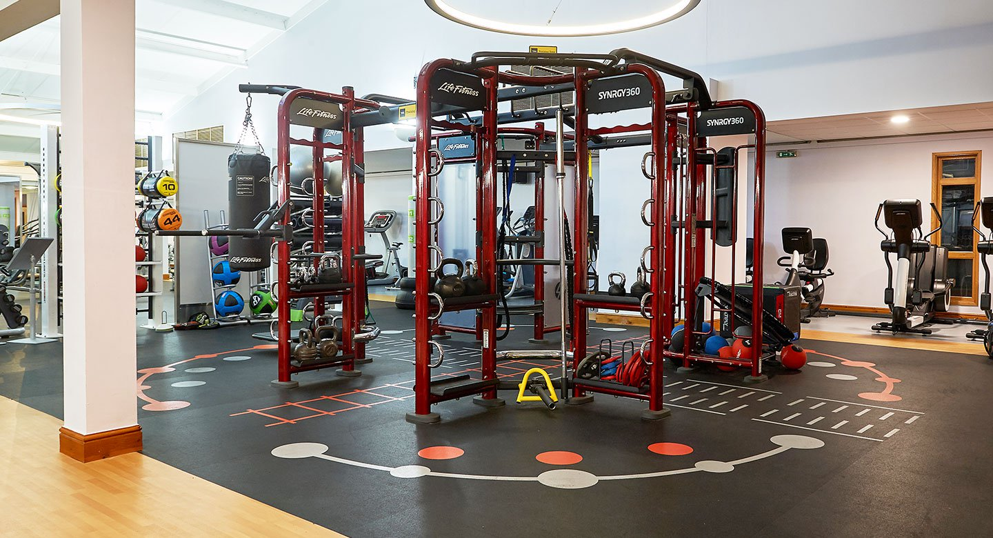 Image of synrgy area at David Lloyd Clubs