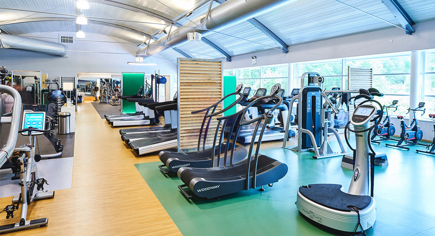 Image of gym at David Lloyd Brussels