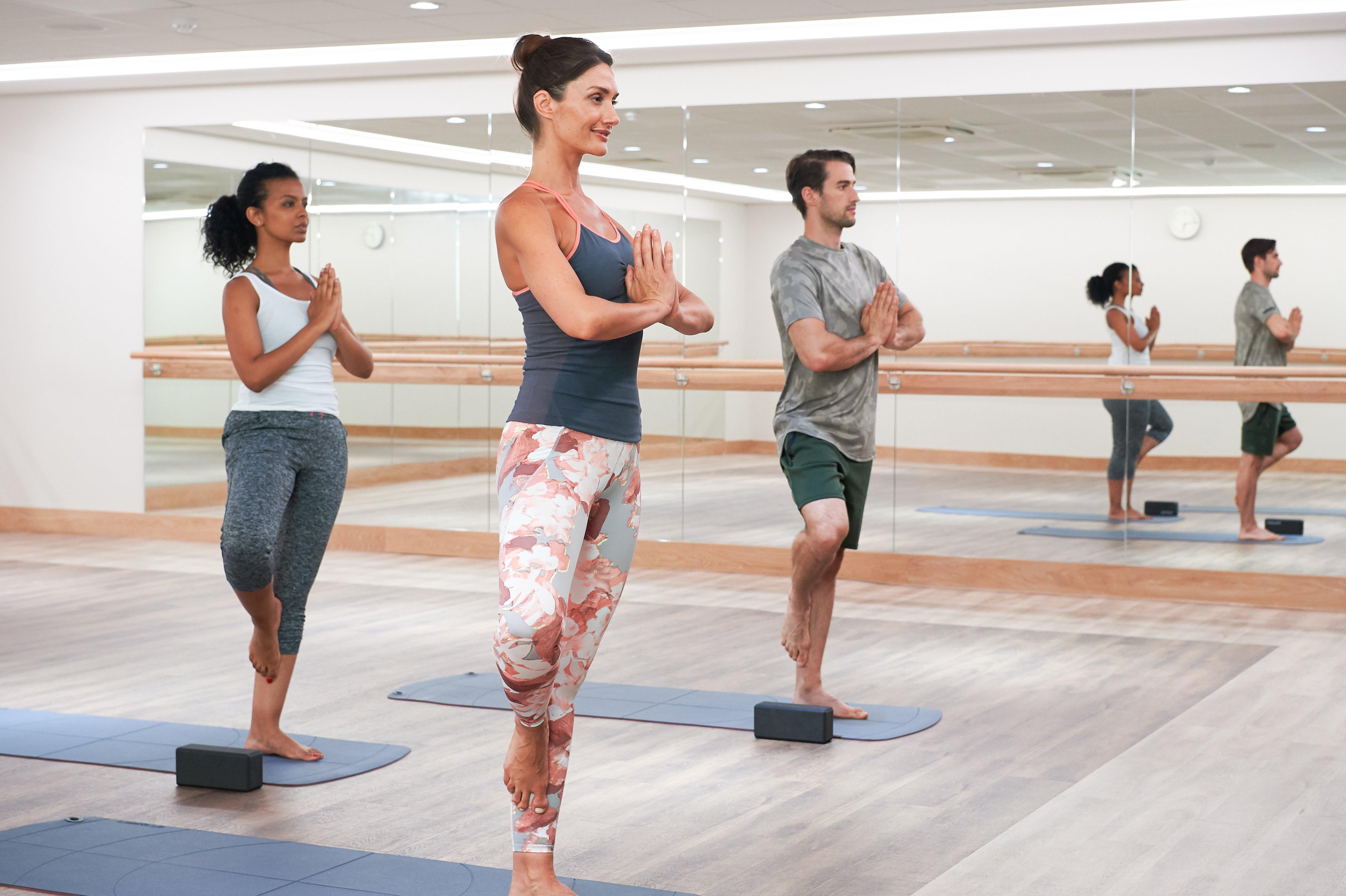 Yoga at Harbour Club