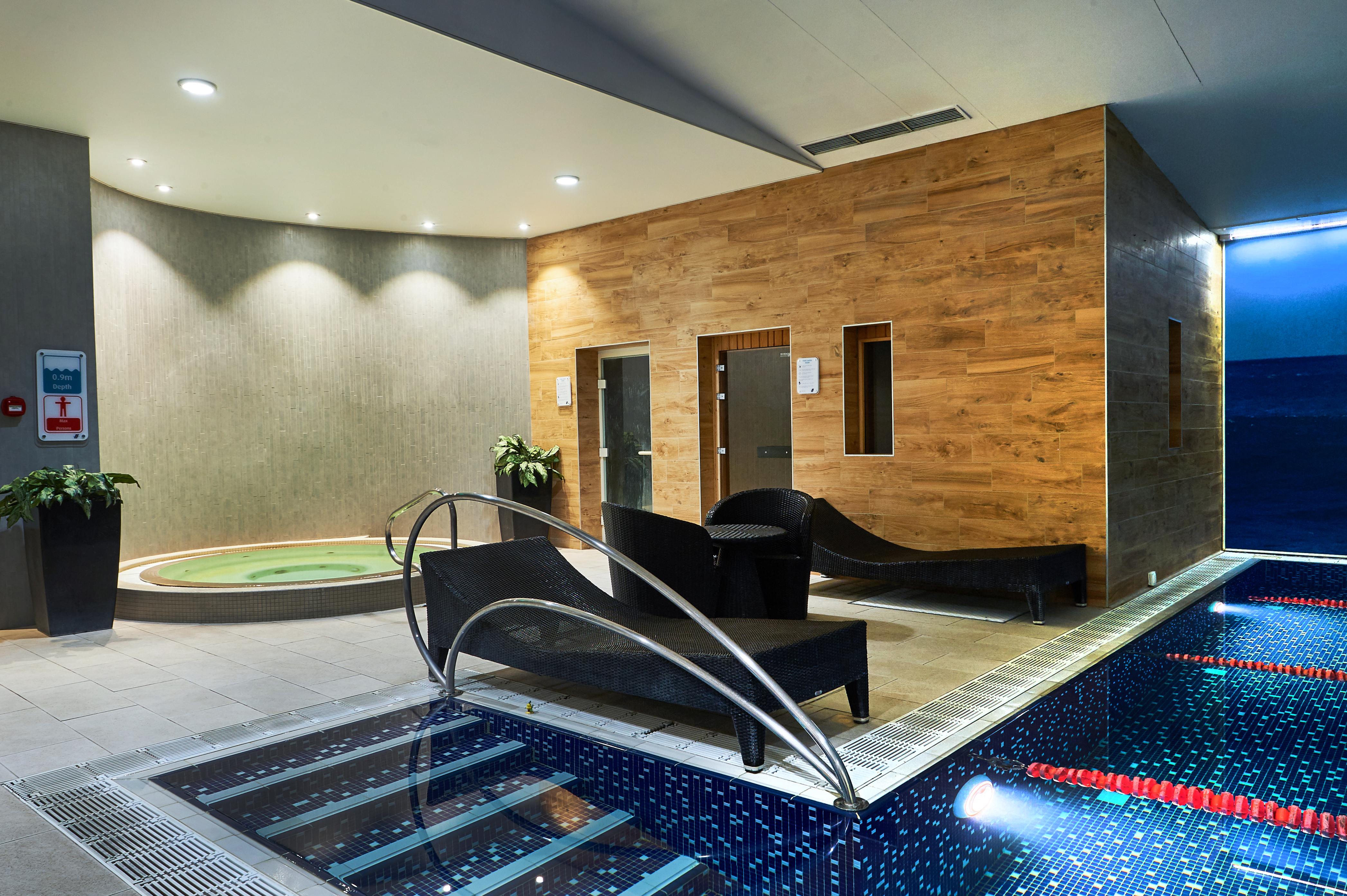 The spa area at Notting Hill