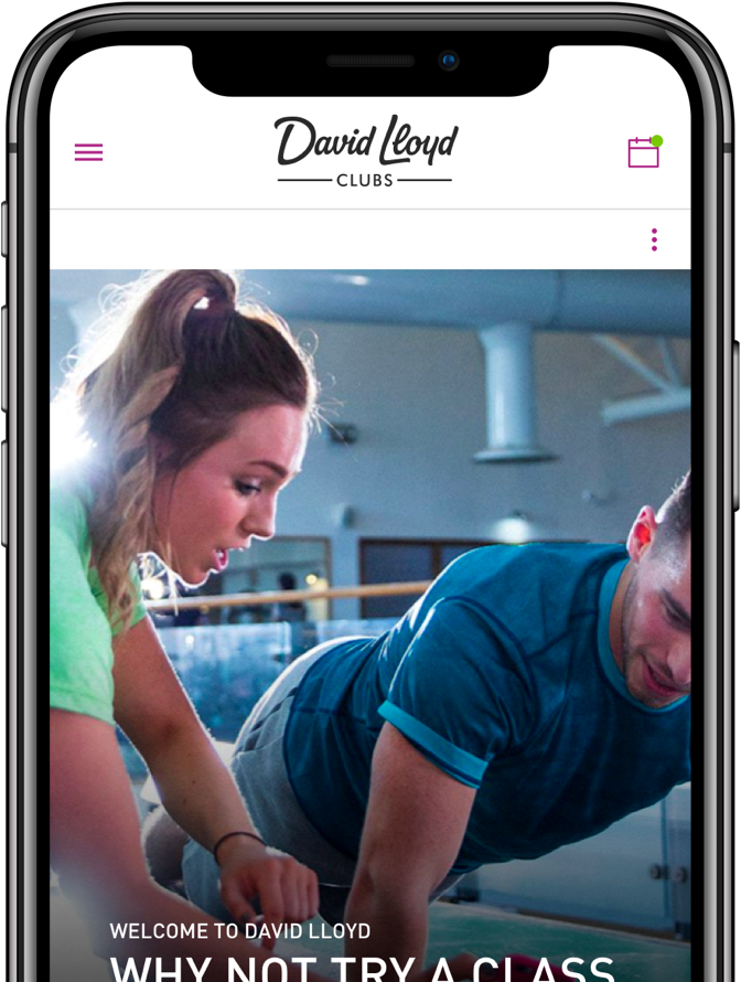 The David Lloyd app