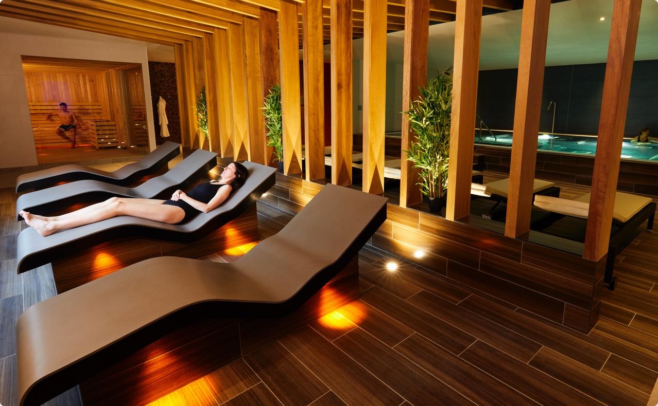 The spa at David Lloyd
