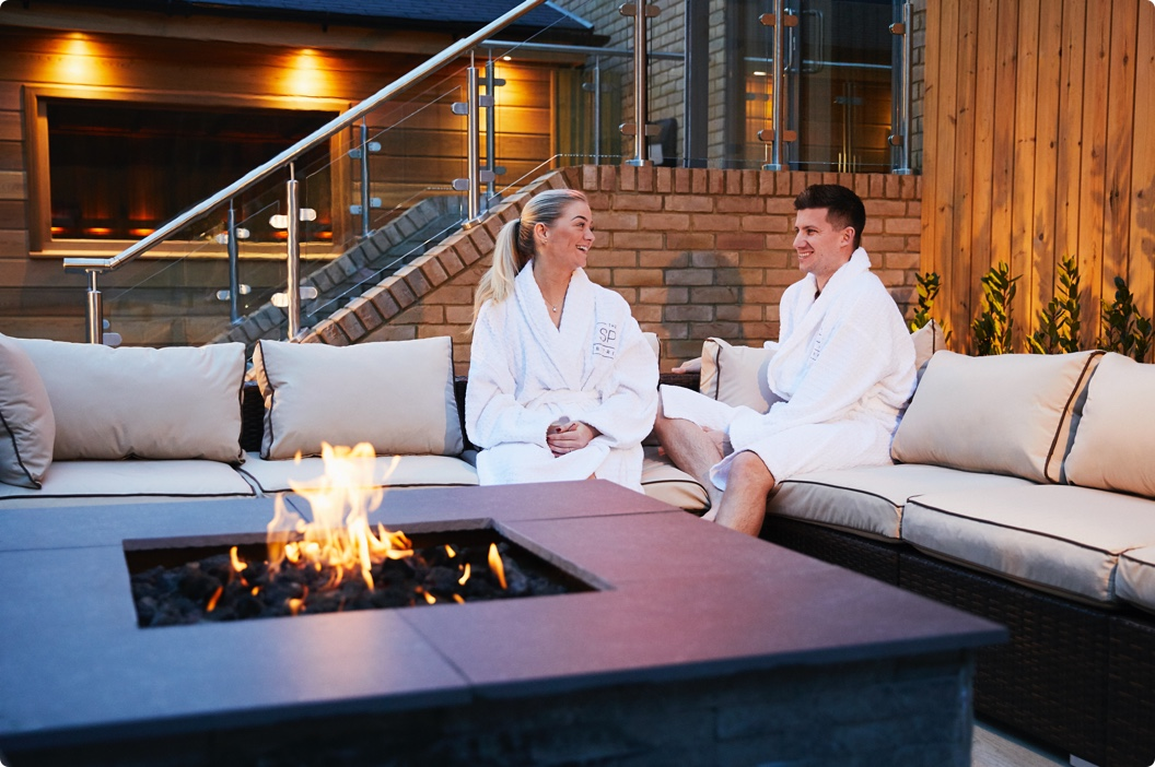 Elegant loungers in the Spa at Emersons Green