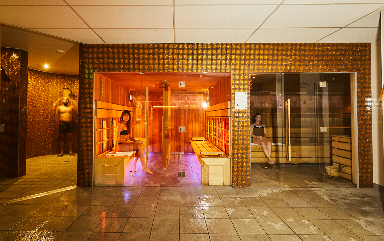 Image of the spa at David Lloyd Rotterdam Centrum