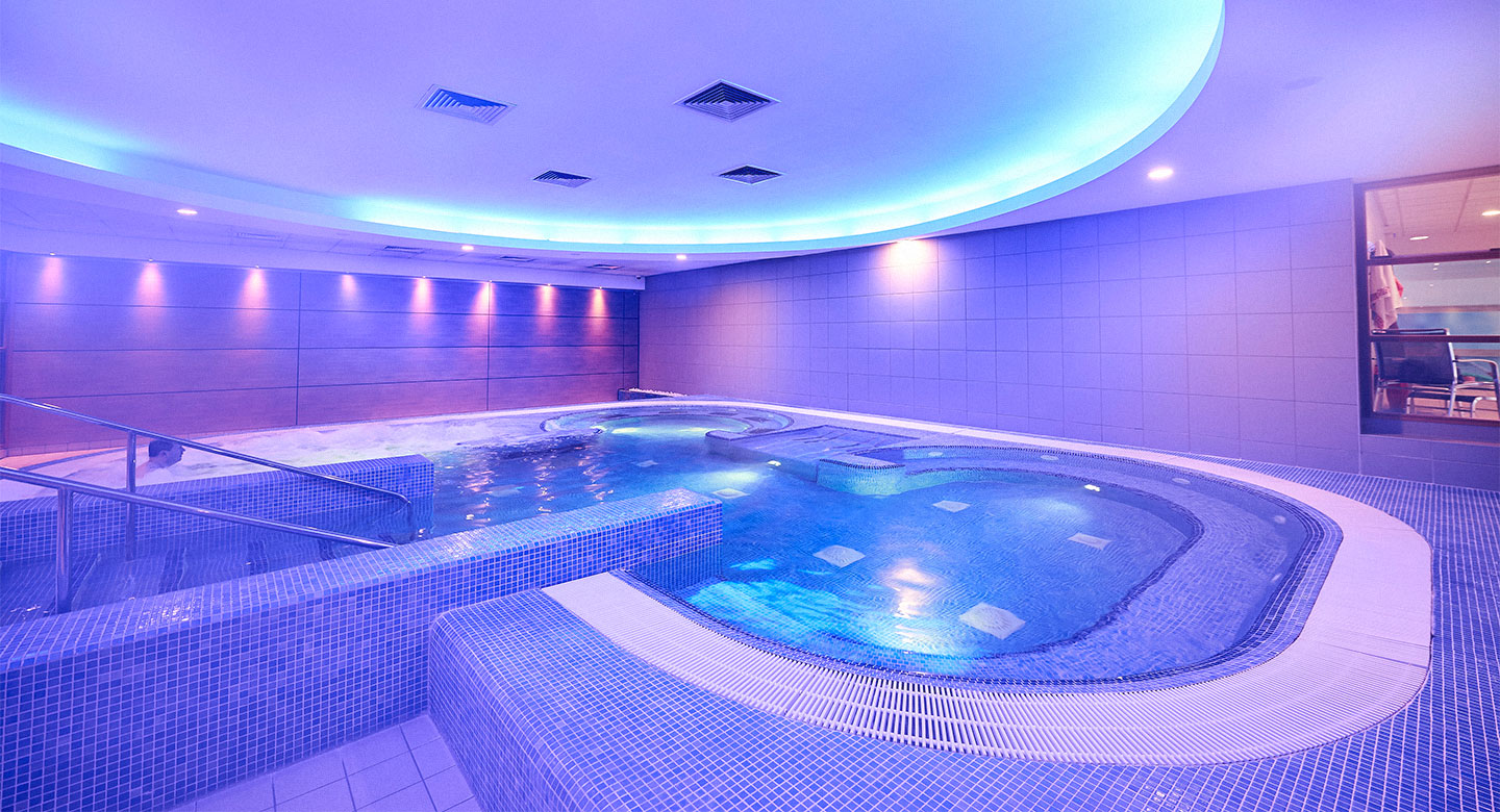 Image of the spa at David Lloyd Brussels