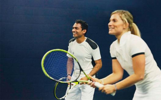 Tennis at Glasgow West End