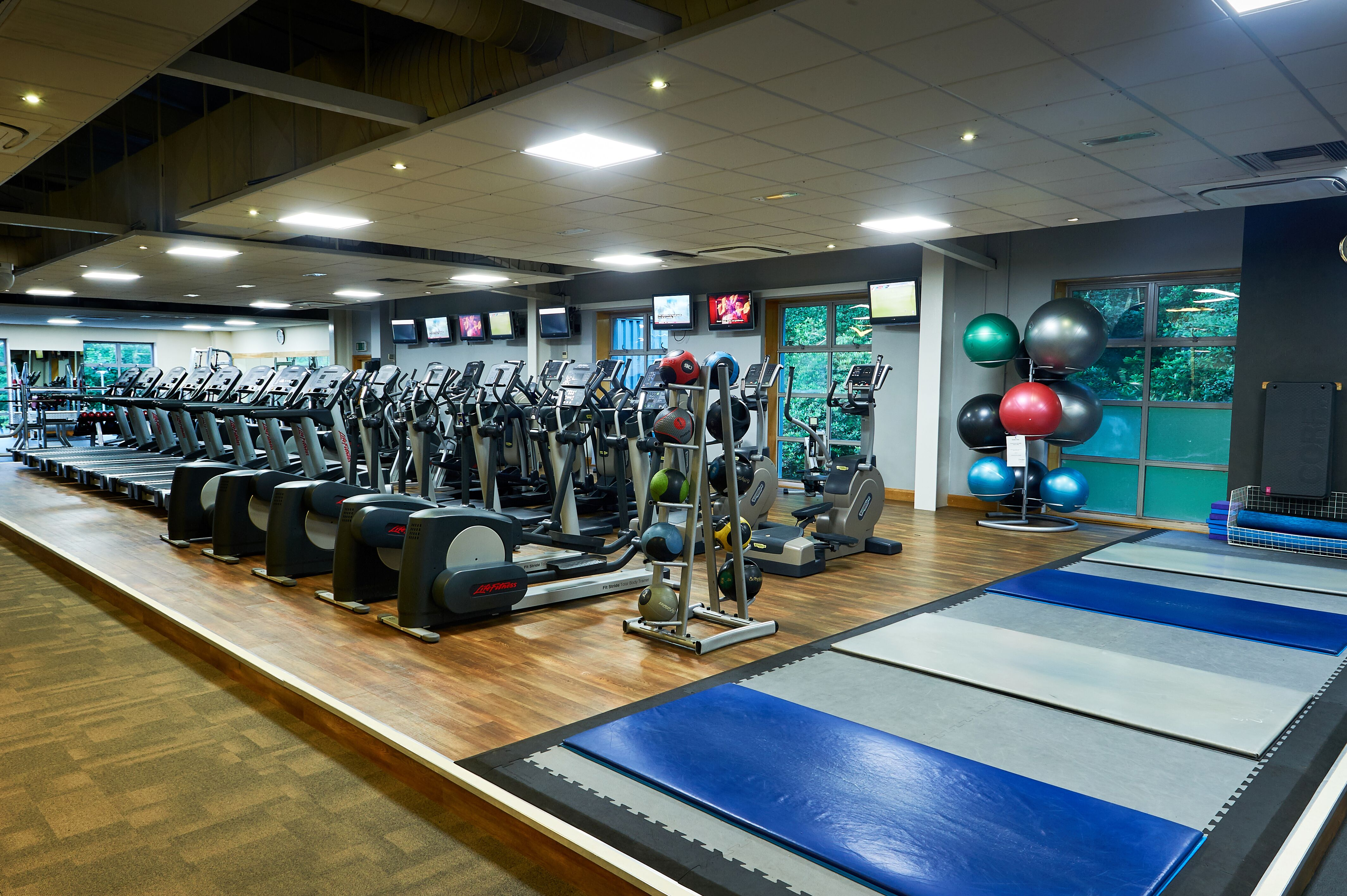 Weybridge Brooklands gym